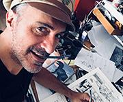 Drawing shows – Performances live de Éric Hérenguel à la Galerie Daniel Maghen