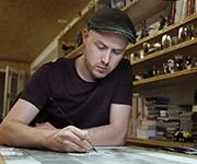 Drawing shows – Performances live de Guznag à la Galerie Daniel Maghen