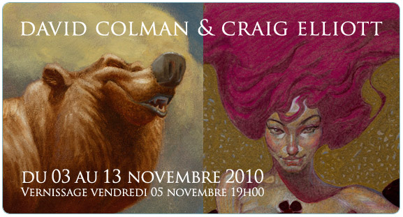 Exposition David Colman & Craig Elliott