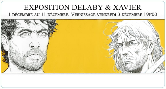 Exposition Philippe Delaby et Philippe Xavier