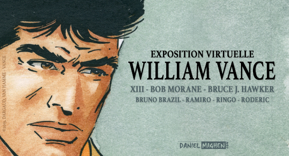 Exposition virtuelle William Vance