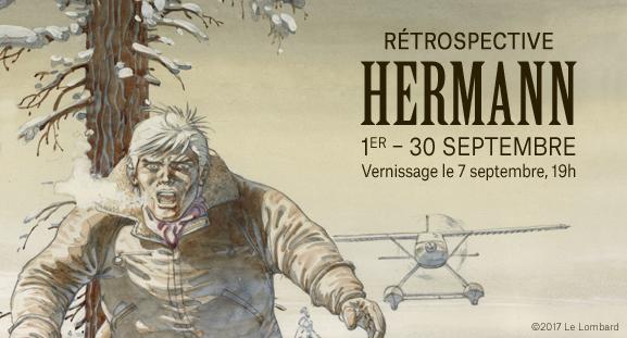 rétrospective Hermann - du 1er au 30 septembre 2017