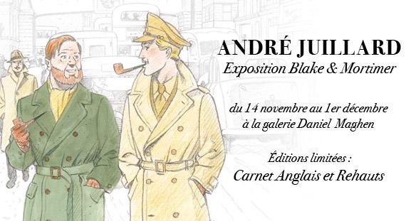 Exposition André Juillard du 14 novembre au 1er décembre 2012