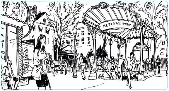 Exposition thématique sur le Métro Parisien. Du 6 au 30 juillet 2011
