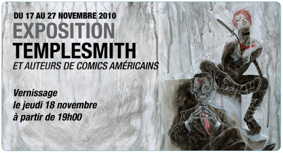 Exposition Ben Templesmith & Auteurs de comics
