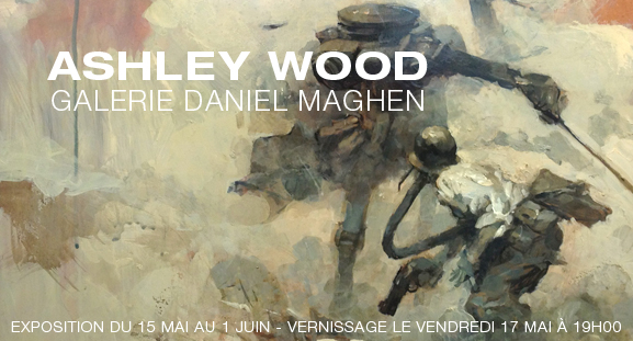 Exposition Ashley Wood du 15 mai au 1 juin 2013
